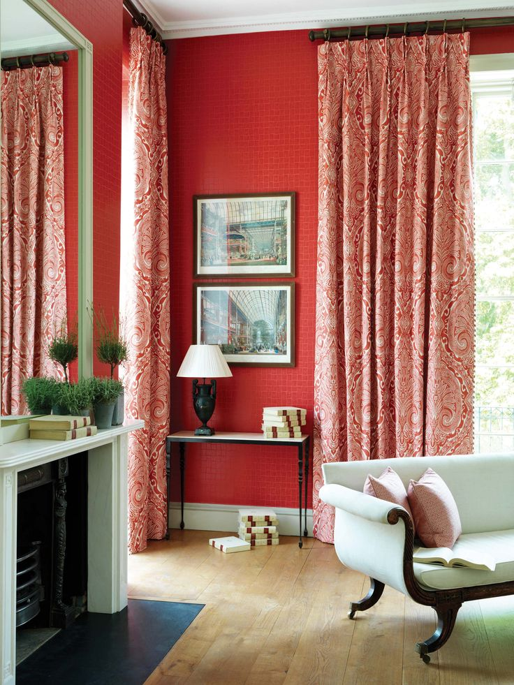 Khitan collection by Nina Campbell - available from Rodgers of York #interiors #wallpaper