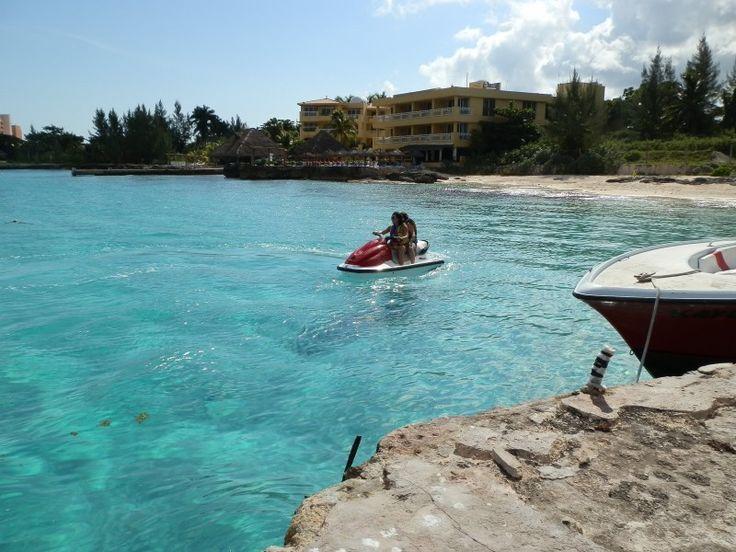 jet skis   Club Caribe Cozumel