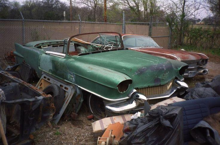 1956 Eldorado Rusted Rides Pinterest Cadillac