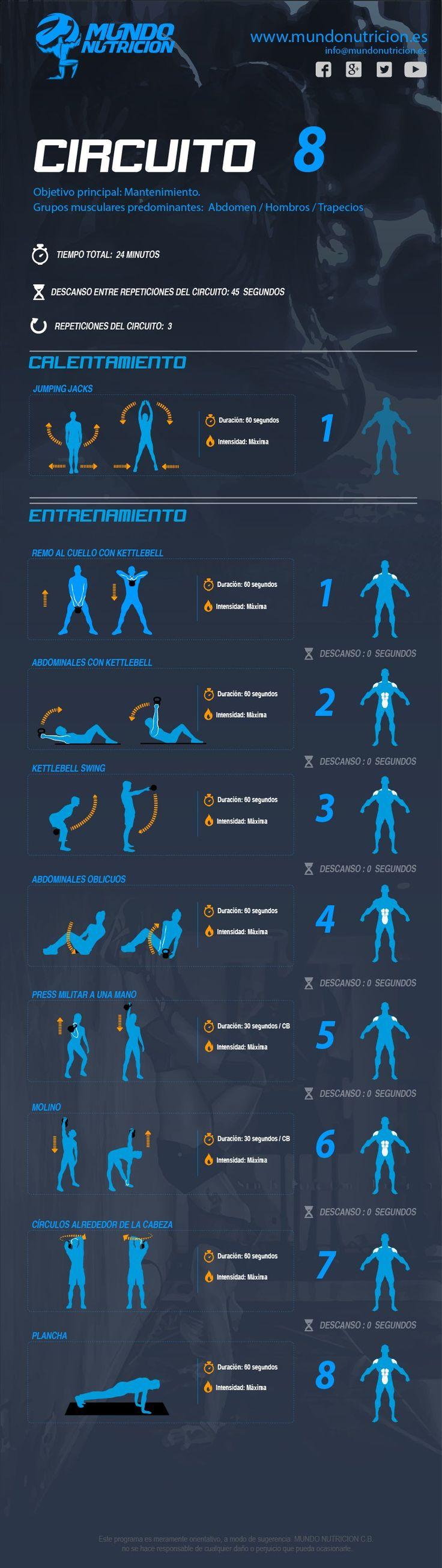 Aumentar volumen de hombros y abdomen MundoNutricion.es