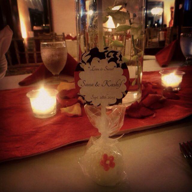 Luxury Wedding favor cakepop