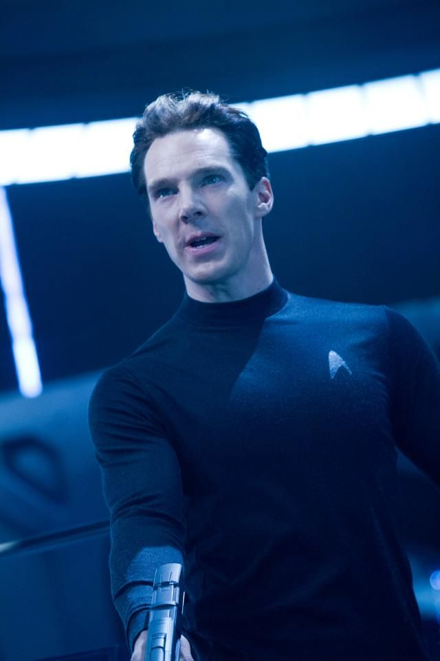 This is just odd. Seeing him in the outfit, just weird. Star Trek Into Darkness - Benedict Cumberbatch