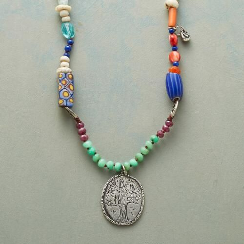 GLOBAL GATHERING NECKLACE: View 1