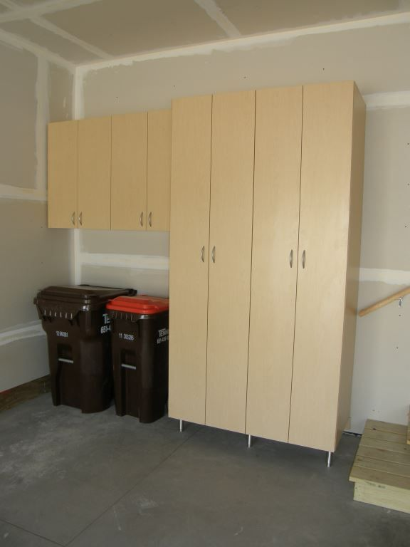 Custom Garage Organization By Closets For Life   We Love That This Design  Leaves Space For