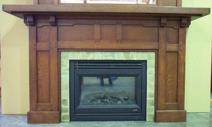 13 best mission style fireplace surrounds images on for Prairie style fireplace