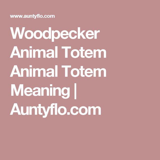 Woodpecker Animal Totem Animal Totem Meaning   Auntyflo.com