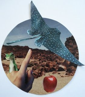 surrealism magazine collage-- great for middle school