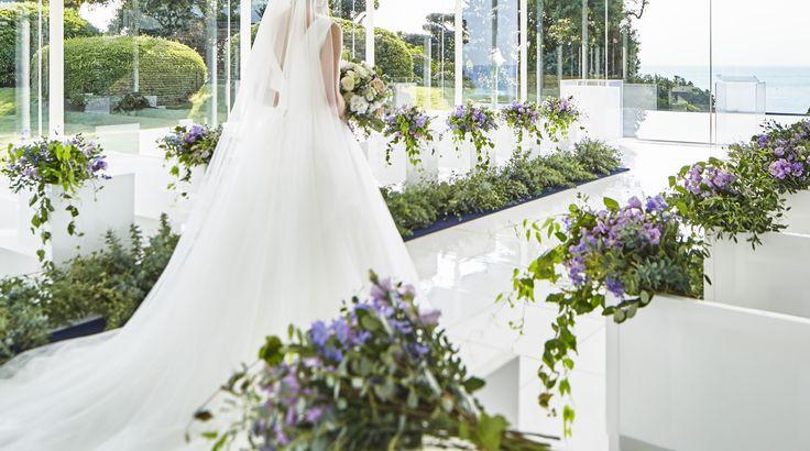 #james-tei #novarese#vressetrose#wedding #white #chapel #Flower #Bridal ##結婚準備 #ノバレーゼ#ブレスエットロゼ #ジェームス邸#ウェディング # チャペル#ナチュラル # ブライダル#教会#説教台#バージンロード#挙式#パープル#グリーン