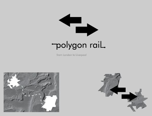Polygon rail by Martin Kraus, via Behance