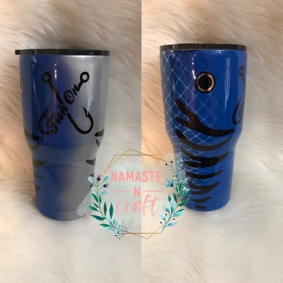 Download Custom Fishing Lure Tumbler Stainless Steel Cup Personalized Gift Fishing Gift Home Living Drinkware Commentfer Fr