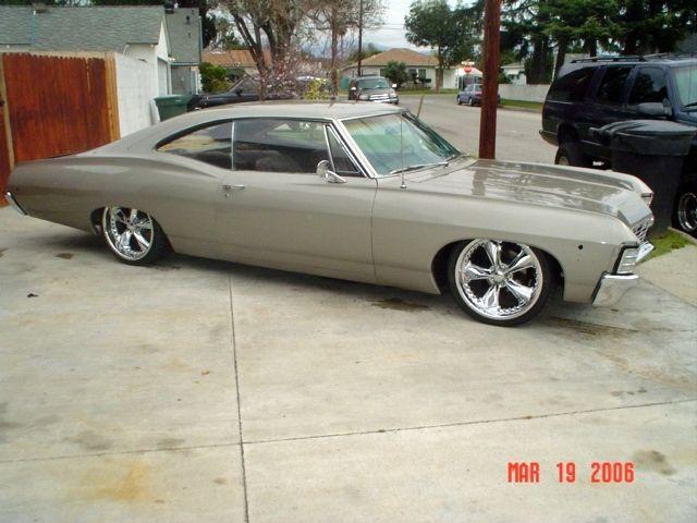 For Sale 1967 Chevy Impala Fastback @ www.xtremetoyzclassifieds.com