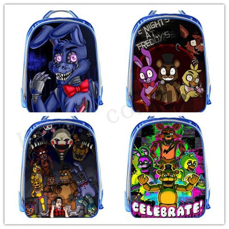 Five Nights At Freddy's Polyester Shoulder Bags Satchel Backpack