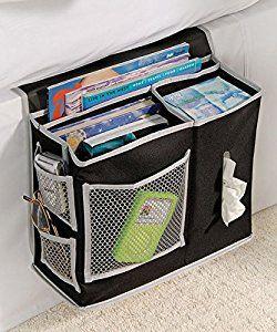 Homewares 6 Pocket Bedside Storage Mattress Book Remote Caddy