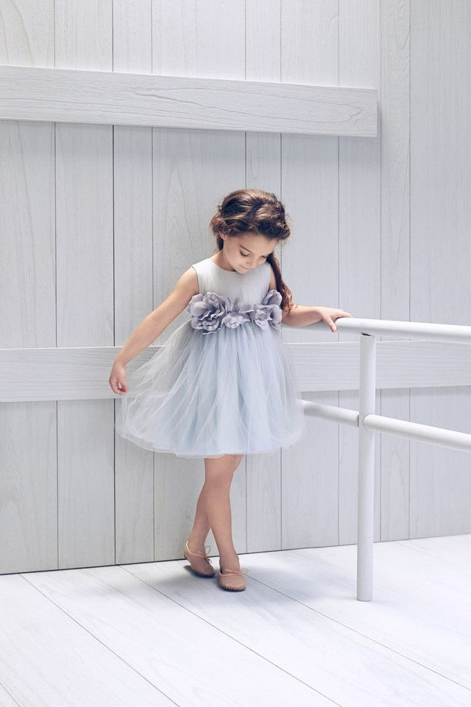 Nellystella Blossom Dress in Artic Ice – The Girls @ Los Altos