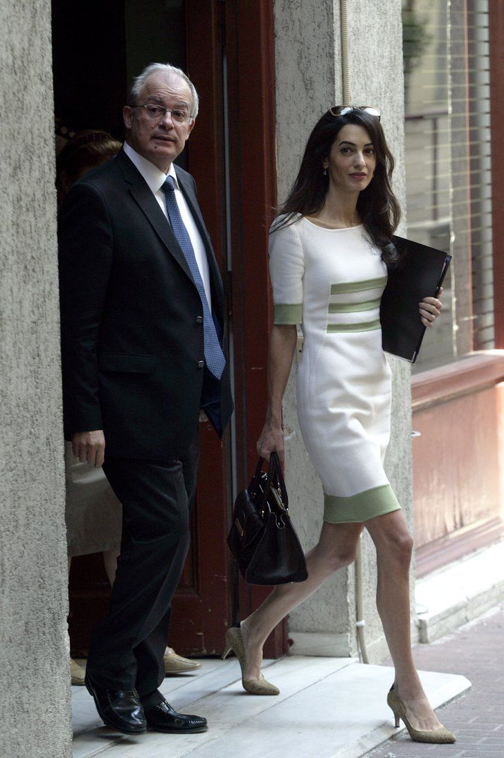 Pin for Later: Forget About Being Mrs. Clooney, Amal Has Work to Do