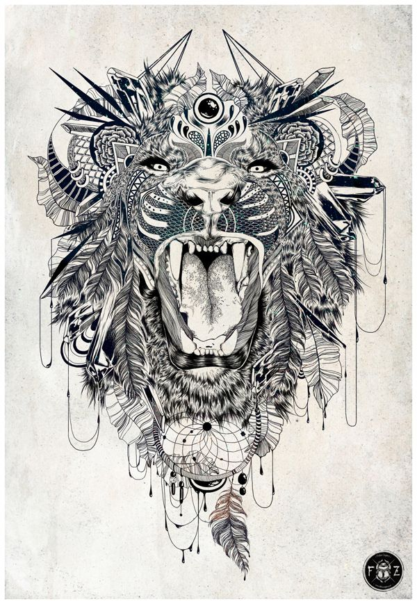 Lion | Feline Zegers. | Artmonía