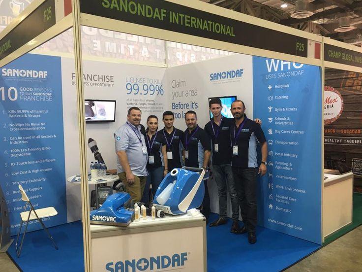 SANONDAF TEAM AT THE FLASIA EXPO IN SINGAPORE with Stuart White ( Sanondaf UK ) Alessia Galea, Luke Degiorgio, Jason Degiorgio, Nicky Vassallo, Mark Vassallo ( Sanondaf Int.)