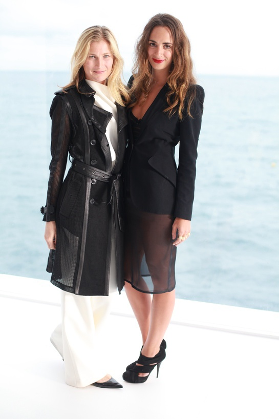 Elizabeth von Guttman Alexia Niedzielski at Dior Cruise 2014 in Monte Carlo during Cannes Film Festival 2013