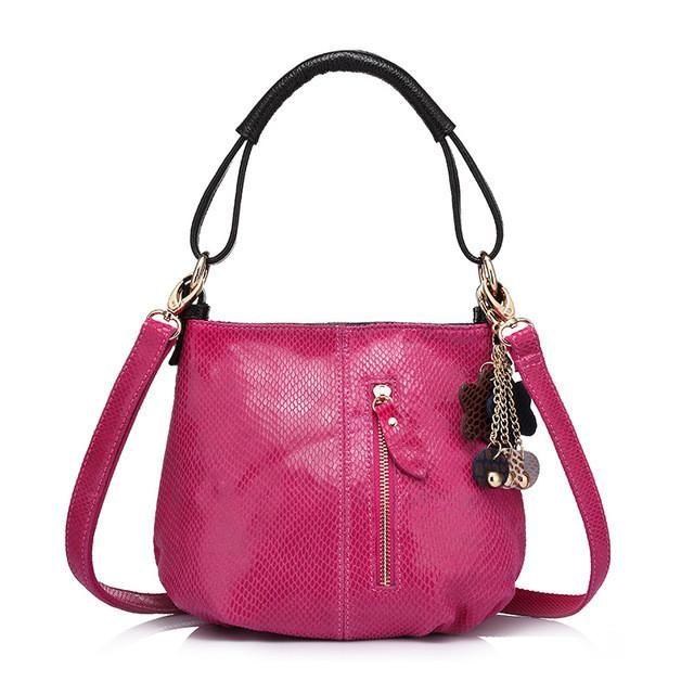 Serpentine Hobo Bag