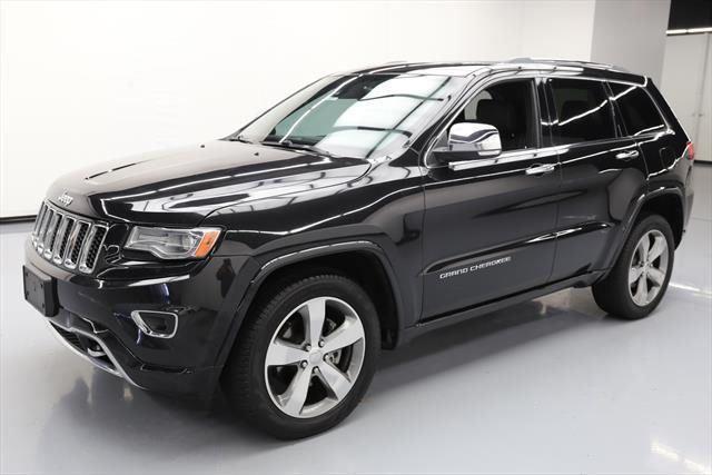 Salvage 2017 Jeep Grand Cherokee Overland Grand Cherokee
