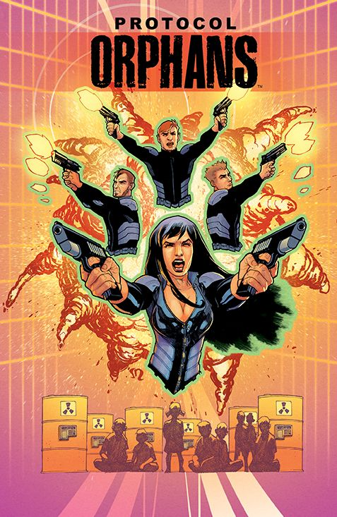 PROTOCOL: ORPHANS #4 Number of Issues/Volumes in Series: 4 Retail Price: $3.99 Author(s): Michael Alan Nelson Artist(s): Mariano Navarro Cover Artist(s): Stephane Roux  Black Friday has been set in motion, and our Orphans have been given their burn notices. Now, as rogue fugitives of their own clandestine black ops organization, the team must take the fight back to the place that started it all...the Playground.