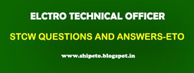 STCW QUESTIONS AND ANSWERS