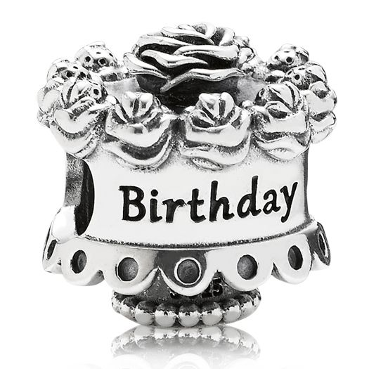 abalorio pandora happy birthday