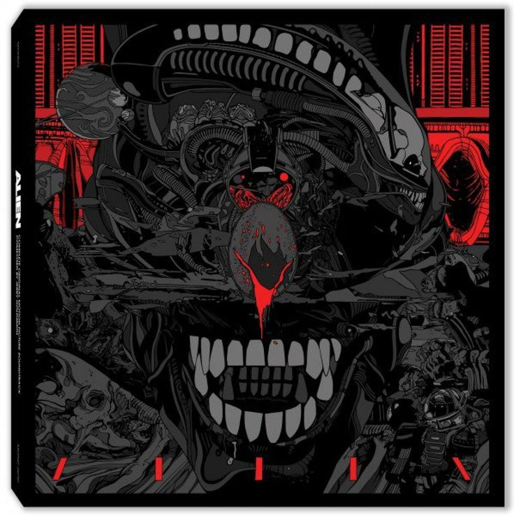Mondo announces Alien soundtrack reissue on quadruple vinyl
