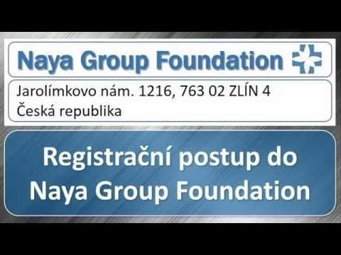 Registračný postup Naya Group Foundation, 25.9.2016