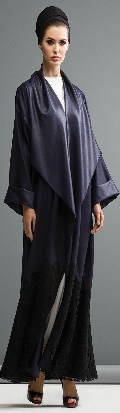 Mauzan abaya Dubai..Colored linen fabric Applique Lace