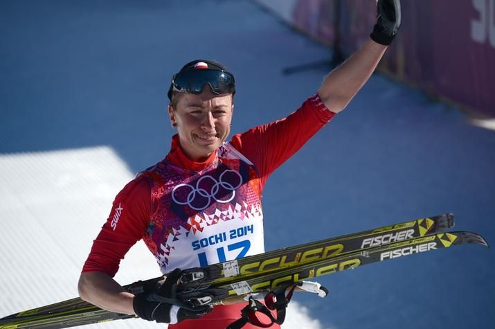 Justyna Kowalczyk: b. 1983; Kowalczyk is a cross country skier from Poland.  She won a gold medal in Sochi for Ladies' 10 Kilometer Classic.