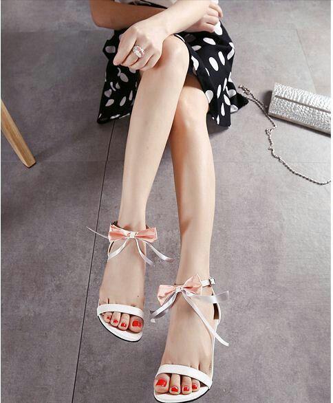 $17.5 Pink Cut Out Sandals! #peeptoes #highheels #onlineshop #oli_oddie