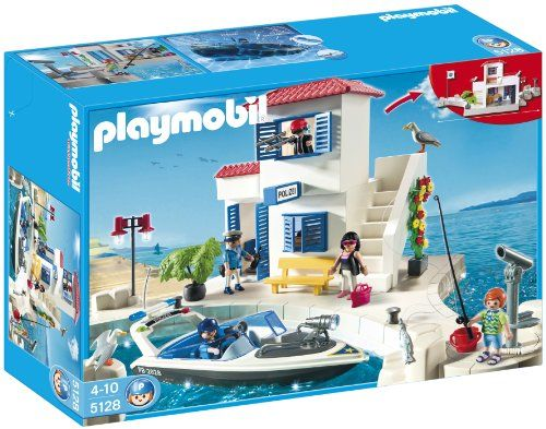 $59.99 Playmobil Harbour Police With Speedboat  From PLAYMOBIL®   Get it here: http://astore.amazon.com/toys4kids09-20/detail/B004LR9D88/186-4678595-8875665