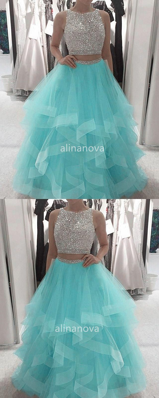 Light Blue Prom Dresses Ball Gown Prom Dresses Two Piece Ball Gown Golddiamondnecklace Cute Prom Dresses Light Blue Prom Dress Prom Dresses