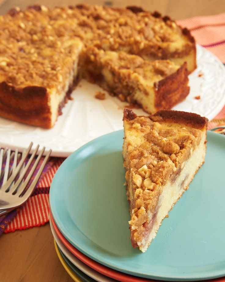 Peanut Butter and Jelly Crumb Cake combines a simple cake with the ...