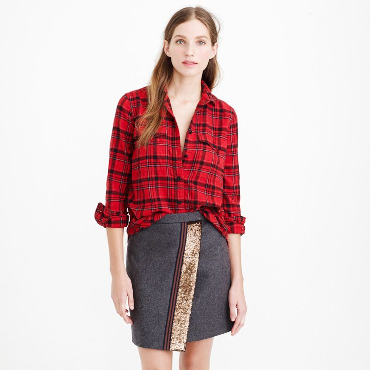 classic flannel.