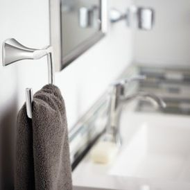 Transitional Towel Rings by Moen