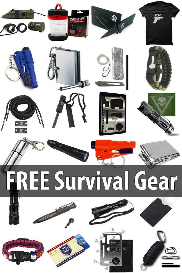 Here you'll find a list of useful, high-quality survival gear that you can get for free. Take advantage of these offers while you can! via @urbanalan