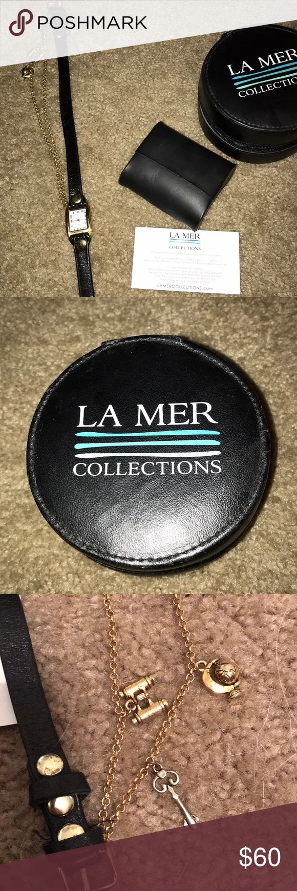 Wrap La Mer Watch hardly worn  Wraps around wrist 3 times La Mer Accessories Watches