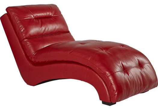 Shop For A Kessel Red Accent Chaise At Rooms To Go Find