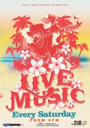 Live Music poster designed by Copirite