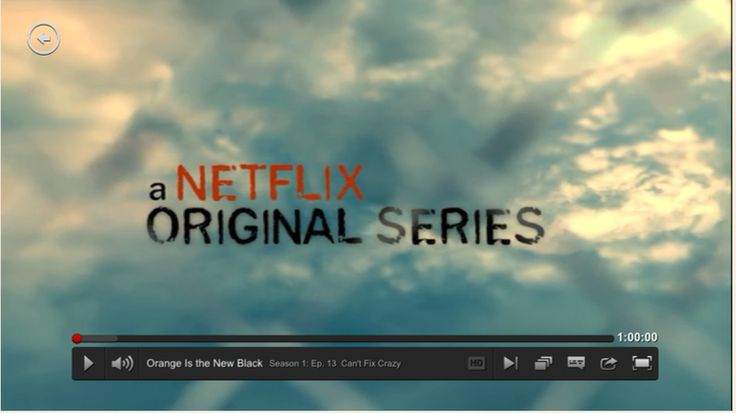 Watching videos on Netflix with the Netflix video player