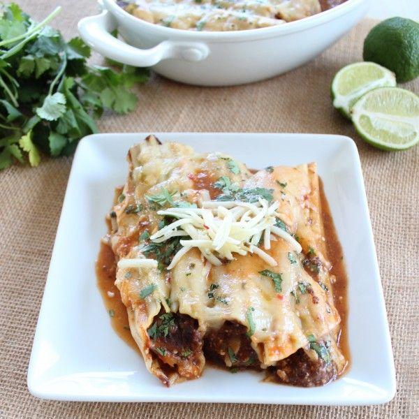 Vegetarian Mexican Manicotti Recipe