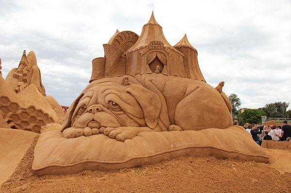 Скульптуры из песка - Amazing Box Amazing Box