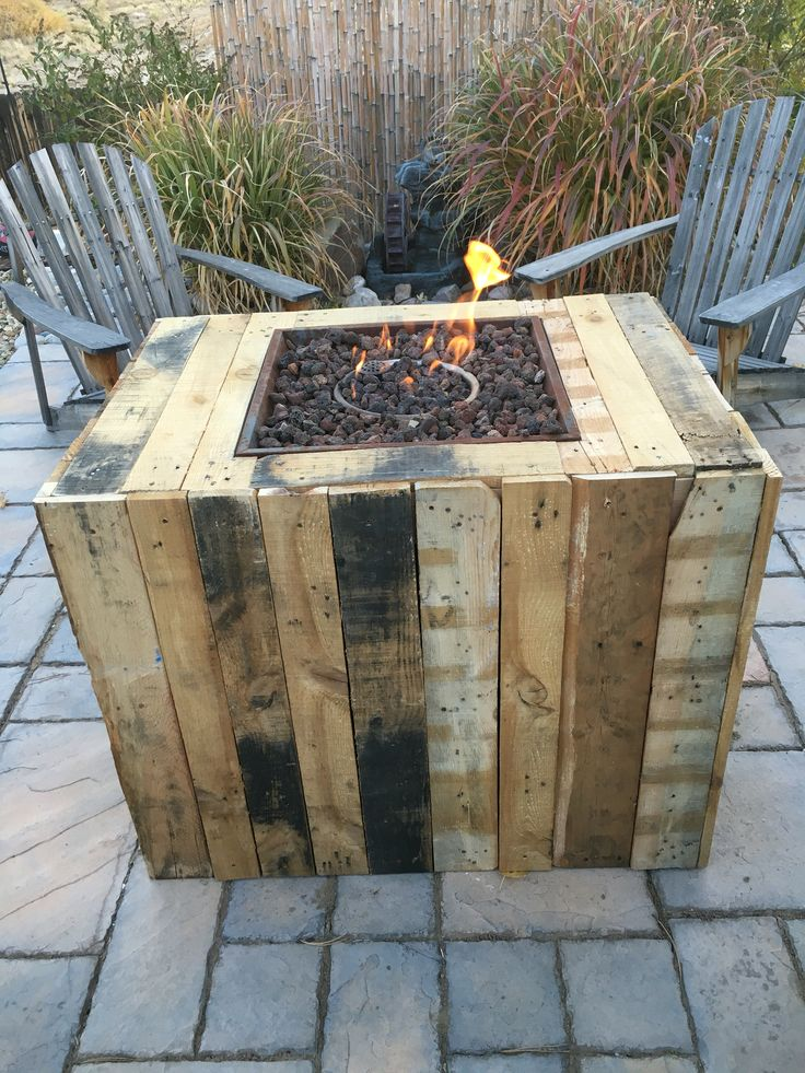 Pallet Fire Pit Things I Ve Made Pinterest Fire Pits Fire And