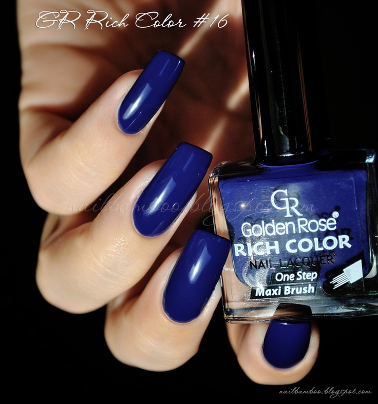 nailbamboo: Golden Rose Rich Color #16