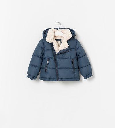 Zara baby boy snow jacket