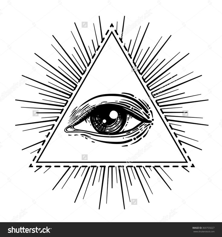 89 best All seeing eye images on Pinterest | Tattoo ...