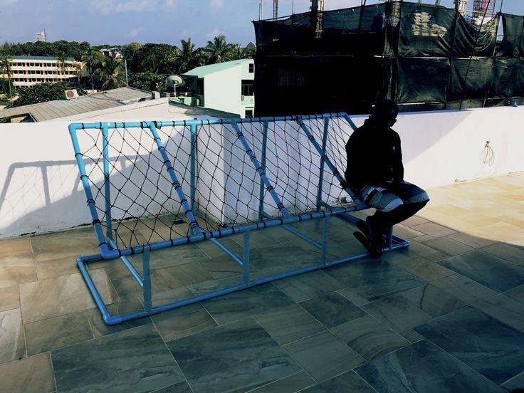 "PVC chair (Maldivian named as ""Joali Fathi "" )"