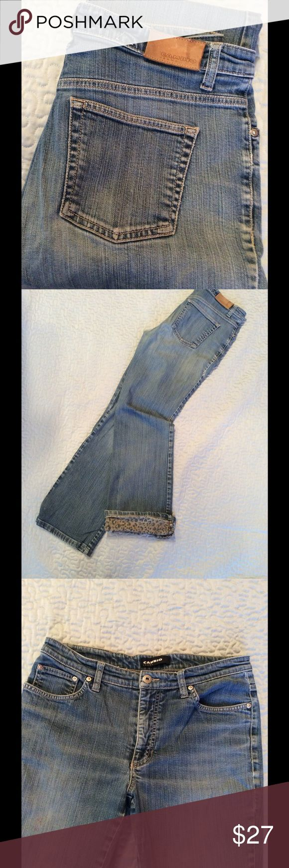 Cambio jeans Gently used Cambio jeans in good shape   Mid rise boot cut. Size 27 Cambio Jeans Boot Cut